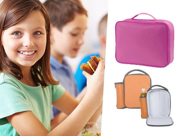 Uzsonnás táskák a suliba és kiránduláshoz, hőtartó béléssel - italok és szendvicsek frissen tartásához