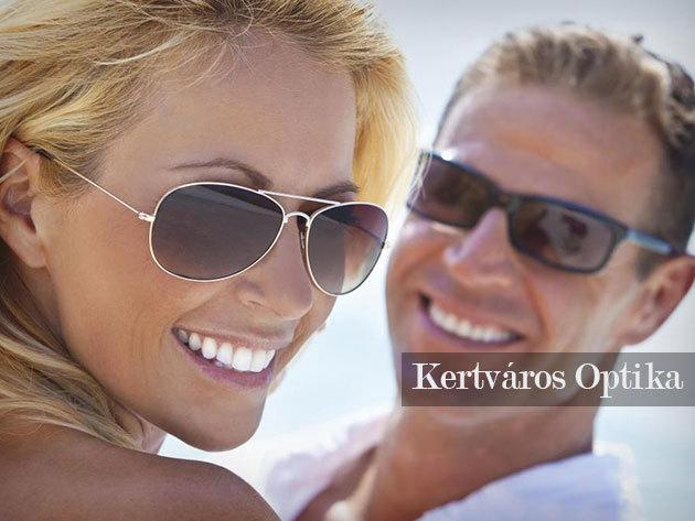 Dioptriás napszemüvegek 100% UVA - UVB szűrővel, választható színű lencsékkel