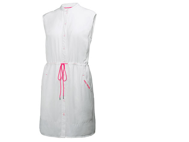 Helly Hansen W NAIAD SHIRT DRESS WHITE S (54205_001-S)