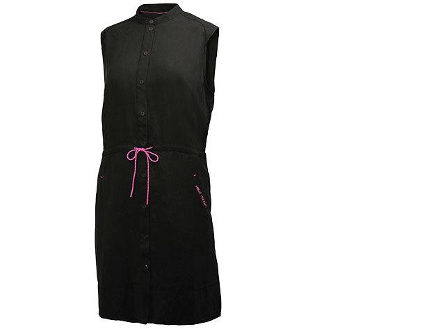 Helly Hansen W NAIAD SHIRT DRESS BLACK M (54205_990-M) - AZONNAL ÁTVEHETŐ