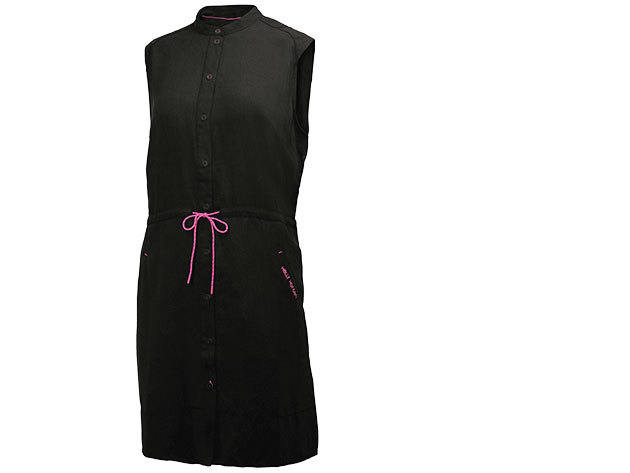 Helly Hansen W NAIAD SHIRT DRESS BLACK XL (54205_990-XL)