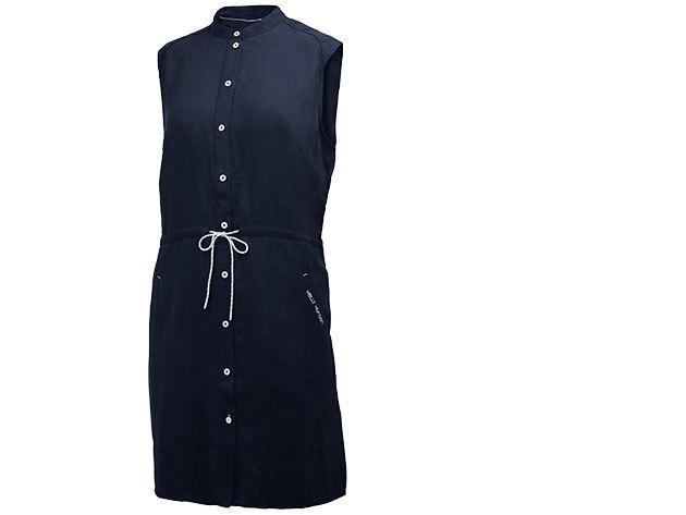 Helly Hansen W NAIAD SHIRT DRESS EVENING BLUE S (54205_689-S)