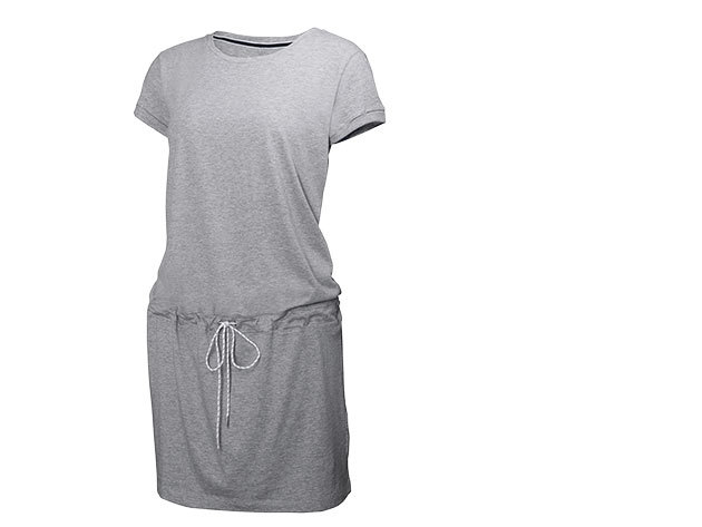 Helly Hansen W NAIAD DRESS GREY MELANGE L (54204_949-L)