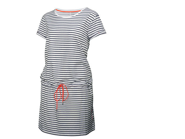 Helly Hansen W NAIAD DRESS EVENING BLUE STRIPE XXL (54204_689-2XL)