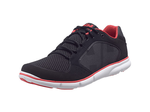Helly Hansen AHIGA BLACK / EARTH RED / LIGHT 46.5/12 (10675_991-12)