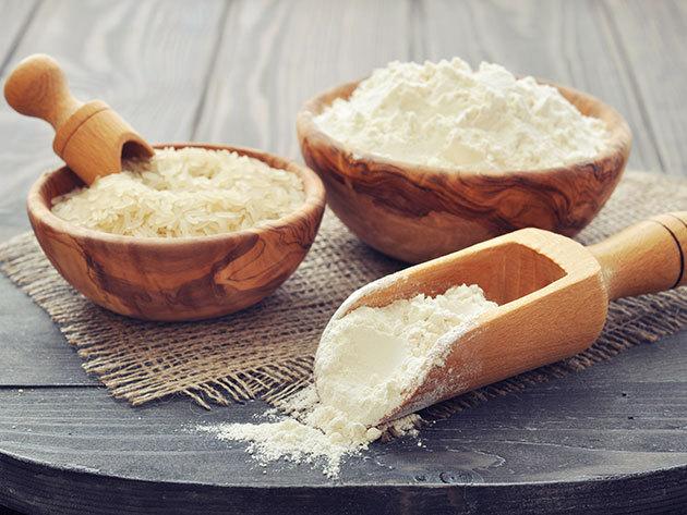 Szentjánoskenyérmag-liszt (100 gramm): szószok, tortaöntetek, desszertek, fagylaltok, főzelékek sűrítésére