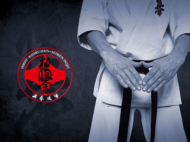 Kyokushin full-contact karate oktatás felnőttek és gyermekek számára - havi bérletek (II. kerület)