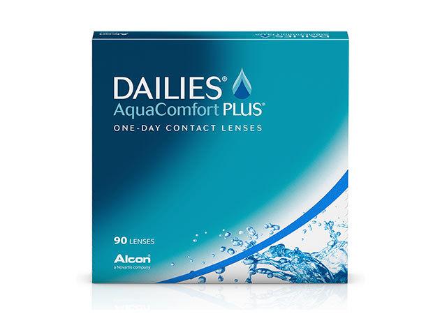 Dailies AquaComfort Plus - napi cseréjű kontaktlencse (90 db)