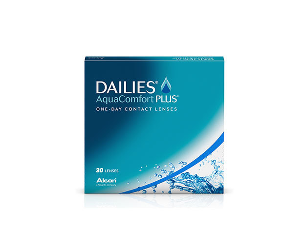Dailies AquaComfort Plus - napi cseréjű kontaktlencse (30 db-os)