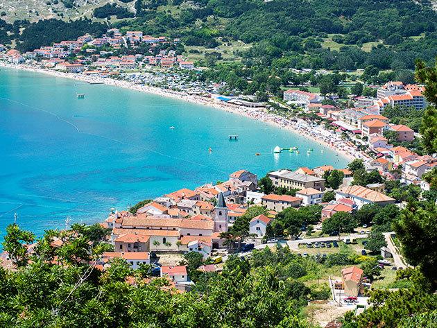 Nyaralás Krk szigetén, Horvátországban - 3 vagy 4 nap 2 fő részére félpanziós ellátással a Blue Waves Resort**** hotelben