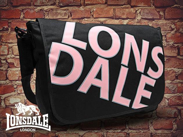 Lonsdale Mess Bag - egy szuper, strapabíró oldaltáska a mindennepokra (28x36x10cm)