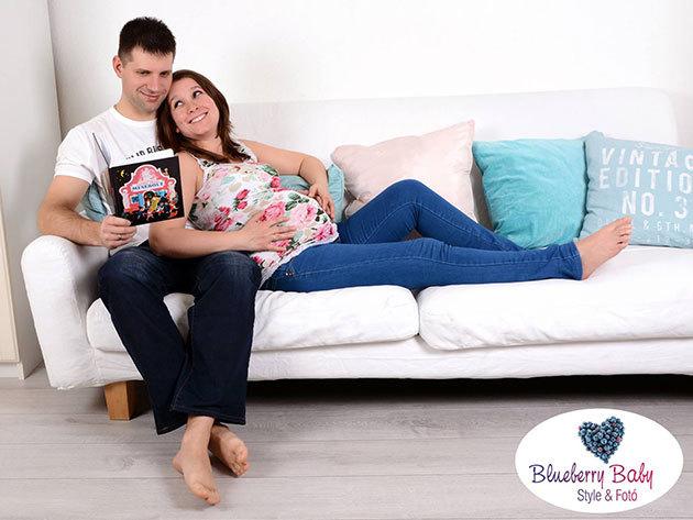 Családi, gyermek vagy kismama fotózás stylist közreműködésével