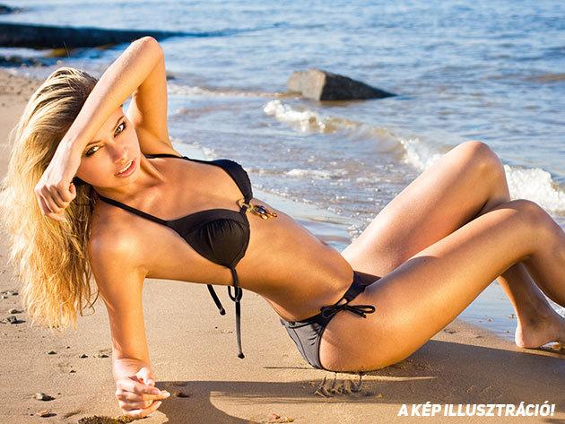 Szexi bikini divatos színekben - klasszikus, méretre állítható fazon gyorsan száradó anyagból (S-M-L)