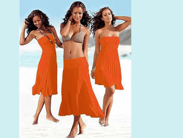 Csinos nyári ruha, melyet szoknyaként is viselhetsz - NARANCS