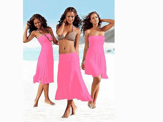 Csinos nyári ruha, melyet szoknyaként is viselhetsz - PINK