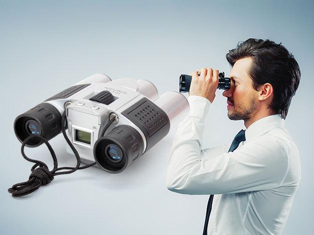 Praktikus távcső 4 az 1-ben, extra funkciókkal - fényképező, videófelvétel, webkamera