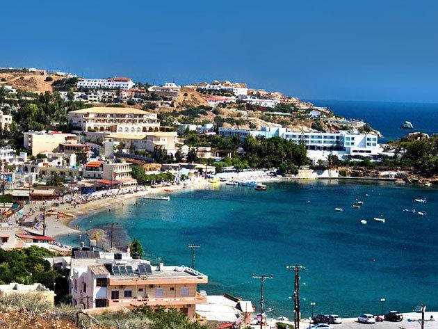 Krétai nyaralás akár főszezonban is - 4 vagy 7 éjszaka szállás reggelis ellátással, medence használattal / Belvedere Hotel***