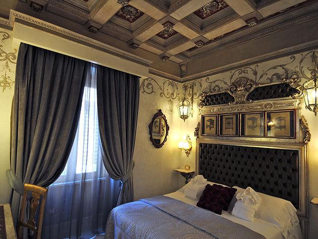4 nap/3 éj Rómában reggelivel, Spa-val, 2 fő részére: Romanico Palace Hotel Rome****