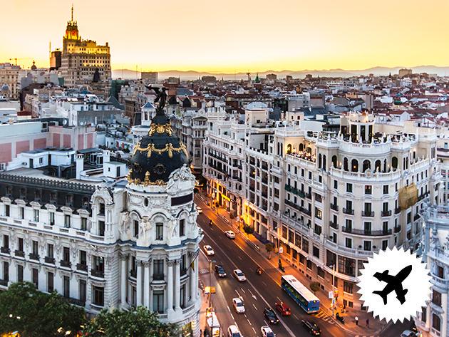 MADRID - 4 nap / 3 éjszaka szállás 2 főnek, repjeggyel, illetékkel, foglalási díjjal