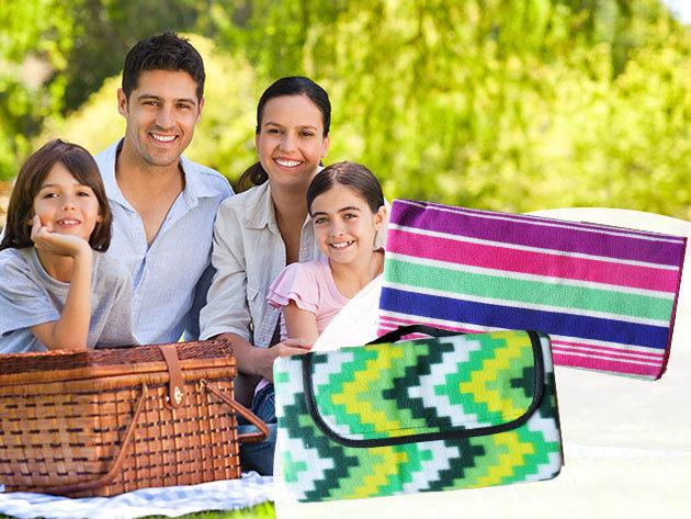 Piknik plédek (130x150 cm) és strandtörölközők (90x180) - a nyár elengedhetetlen kellékei