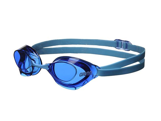 Arena AQUAFORCE 92411 úszószemüveg - kék / kékes lencse