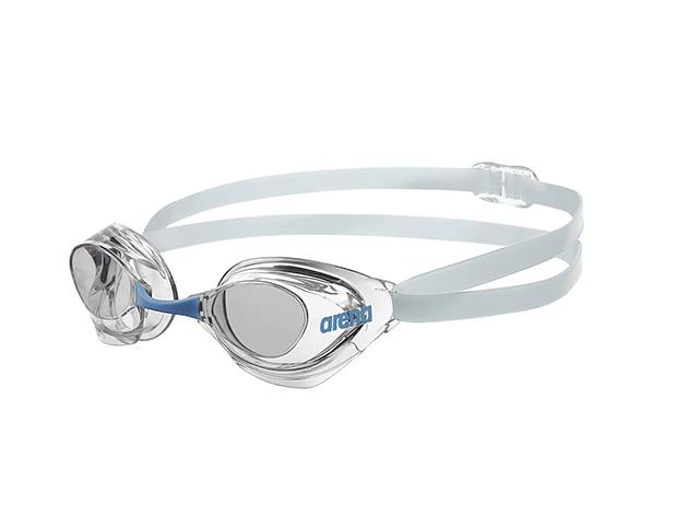 Arena AQUAFORCE 92411 úszószemüveg - fehér / átlátszó lencse