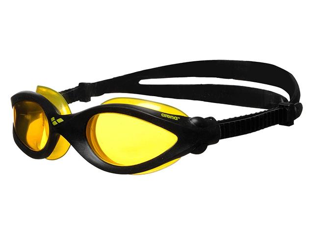 Arena IMAX PRO 92390 úszószemüveg - fekete / sárga lencse