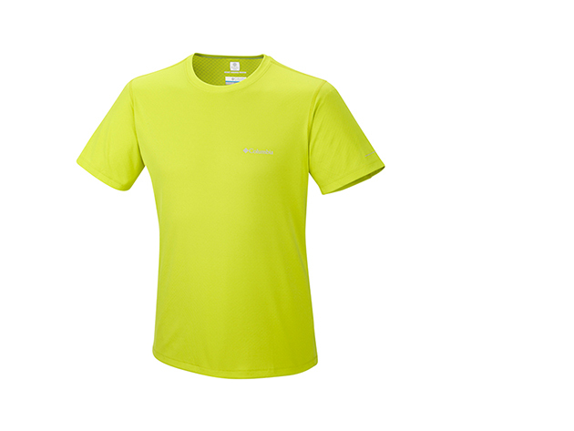 Columbia férfi technikai póló / AM6084k_380 Zero Rules Short Sleeve Shirt / XL méret - ZÖLD