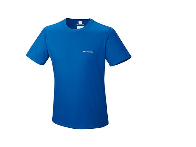 Columbia férfi technikai póló / AM6084k_431 Zero Rules Short Sleeve Shirt / XXL méret - KÉK