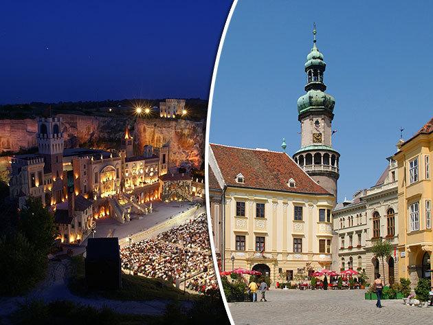 Fertőtáji kirándulás 1 éjszaka szállással (Burgerland, Rust, Sopron, Fertőrákos), fakultatív Tosca operával - augusztus 15-16.
