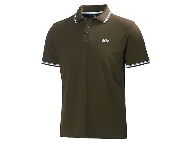 Helly Hansen KOS SS POLO SOIL GREEN S (50565_272-S)