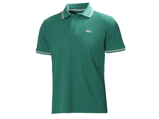 Helly Hansen KOS SS POLO SEA GREEN L (50565_391-L)