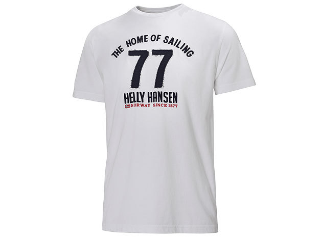 Helly Hansen GRAPHIC SS T-SHIRT WHITE XL (51587_001-XL)