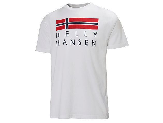 Helly Hansen GRAPHIC SS T-SHIRT WHITE XL (51587_003-XL)