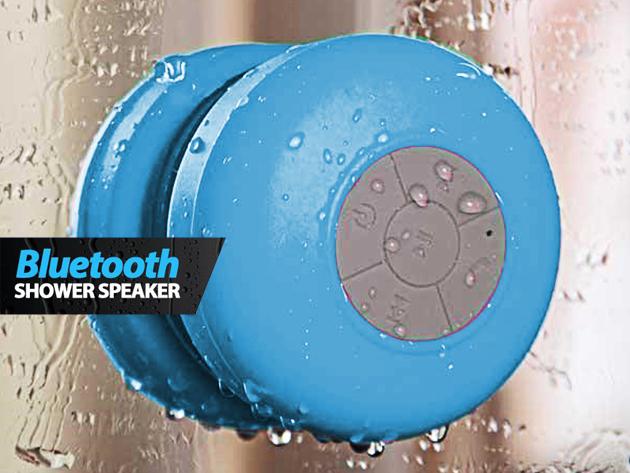 Vízálló Bluetooth hangszóró - telefonálj vagy hallgass zenét akár a fürdőkádban