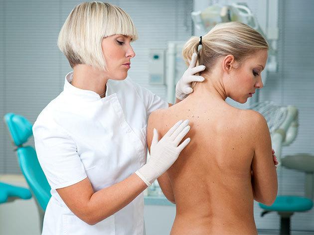 Melanoma vagy egyéb bőrbetegségek szűrése - ekcéma, pikkelysömör - dermatoszkópos szűrővizsgálat az egész testfelületen