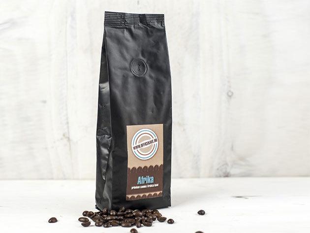 Afrika prémium szemes kávé (250 g)