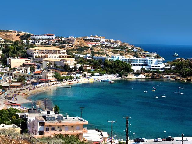 Krétai nyaralás akár főszezonban is! 4 vagy 7 éjszaka szállás 2 fő részére félpanziós ellátással, medence használattal