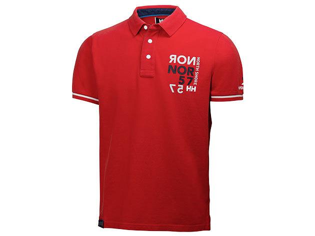 Helly Hansen HP CLUB POLO ALERT RED M (54112_222-M)