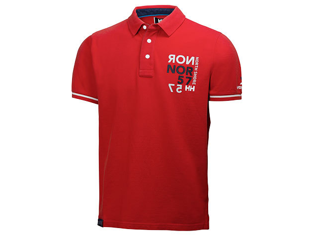 Helly Hansen HP CLUB POLO ALERT RED XXL (54112_222-2XL)