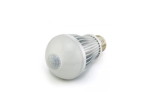 7W-os mozgásérzékelős LED izzó (E27 foglalat)