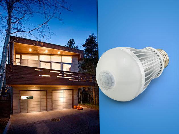 Mozgásérzékelős LED izzó / 7W, E27 foglalat - korszerű, energiatakarékos világítás
