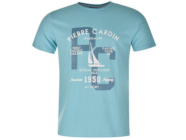 Pierre Cardin férfi vitorlás póló (59923020_SM) VILÁGOSKÉK