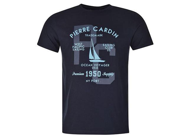 Pierre Cardin férfi vitorlás póló (59923022_SM) SÖTÉTKÉK