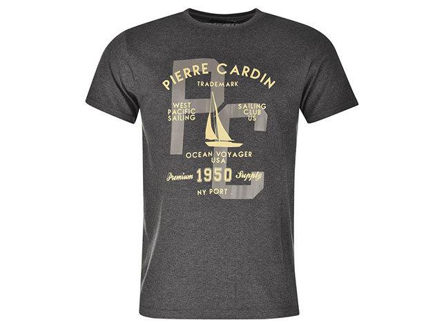 Pierre Cardin férfi vitorlás póló (59923026_SM) VILÁGOSSZÜRKE