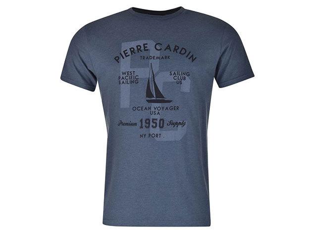 Pierre Cardin férfi vitorlás póló (59923018_SM) KÉK