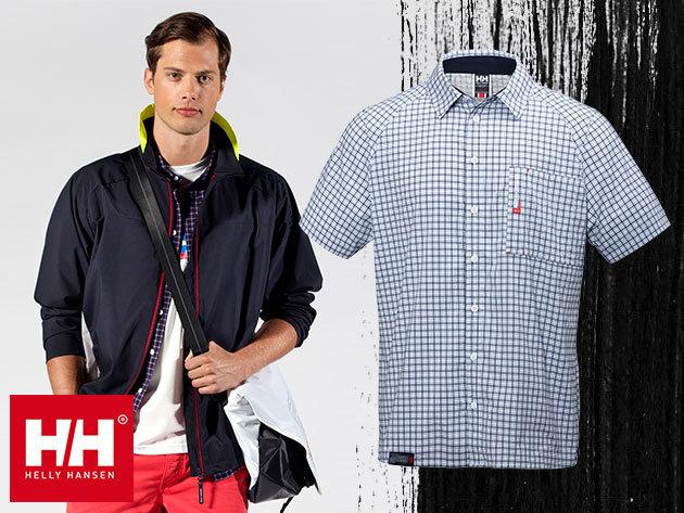 Helly Hansen HP QD SS SHIRT rövidujjú férfi ing, könnyű gyorsan száradó anyagból