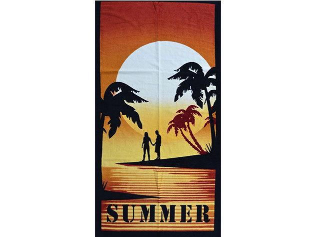 Summer strandtörölköző