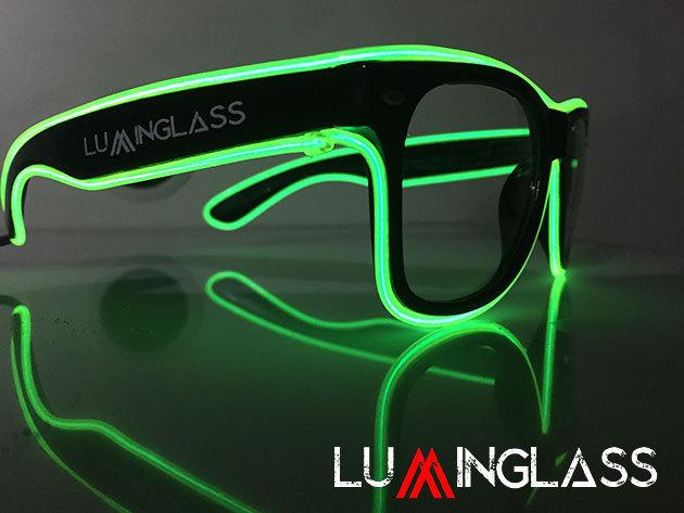 Luminglass Party Szemüveg - tűnj ki a tömegből a következő buliban vagy  fesztiválon c05a7c61cb