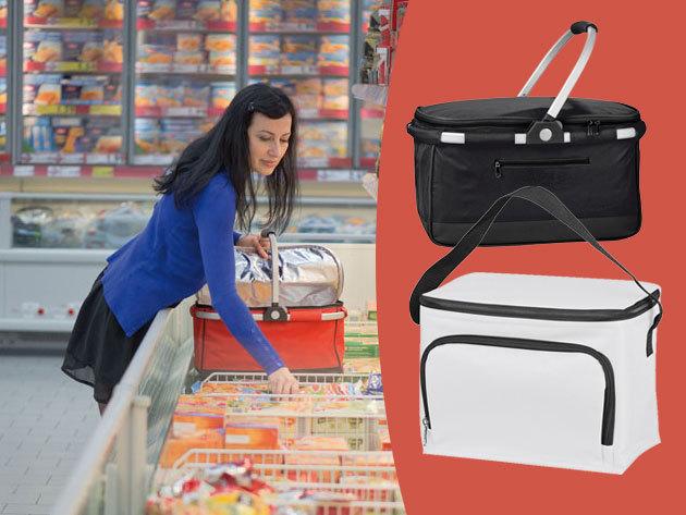 Praktikus frissentartó kosarak és táskák - utazáshoz, strandra és bevásárláshoz